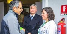 Entrega vacuna sublingual homeopatica, campaña de prevencion contra la Influenza.