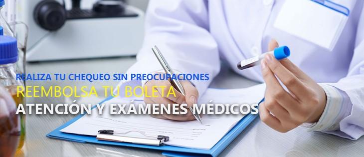 Atención y Exámenes Médicos