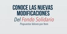 Nuevas Modificaciones  en el Fondo Solidario Aprobadas por la Asamblea