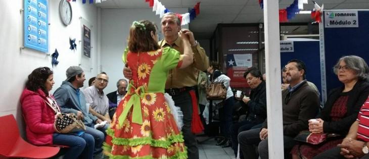 Entretenida celebración dieciochera en Somnaval