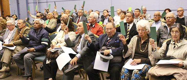 Junta General de Socios para la Reforma de Estatutos y Reglamentos Internos 2018