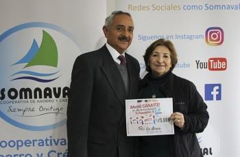 Ganadoras Socias día de la Madre 2017