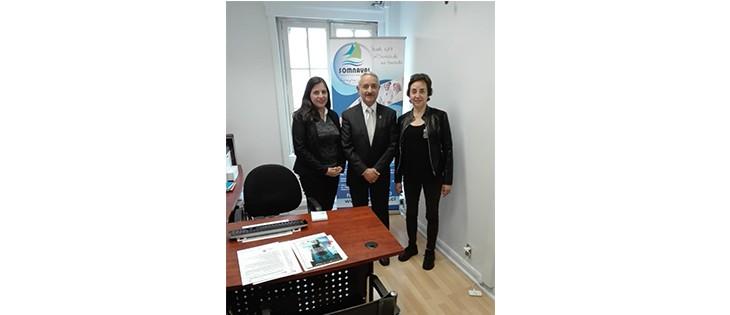 Nueva oficina de Somnaval Ltda. en Santiago