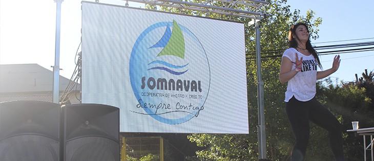Todo un éxito resultó la participación de Somnaval en la Expo Bienestar realizada en Base Naval de Viña