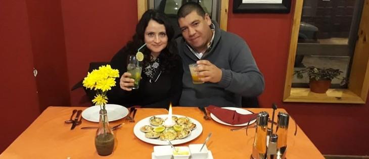 Ganadores de sorteo Pisco Capel, dos cenas para dos personas !