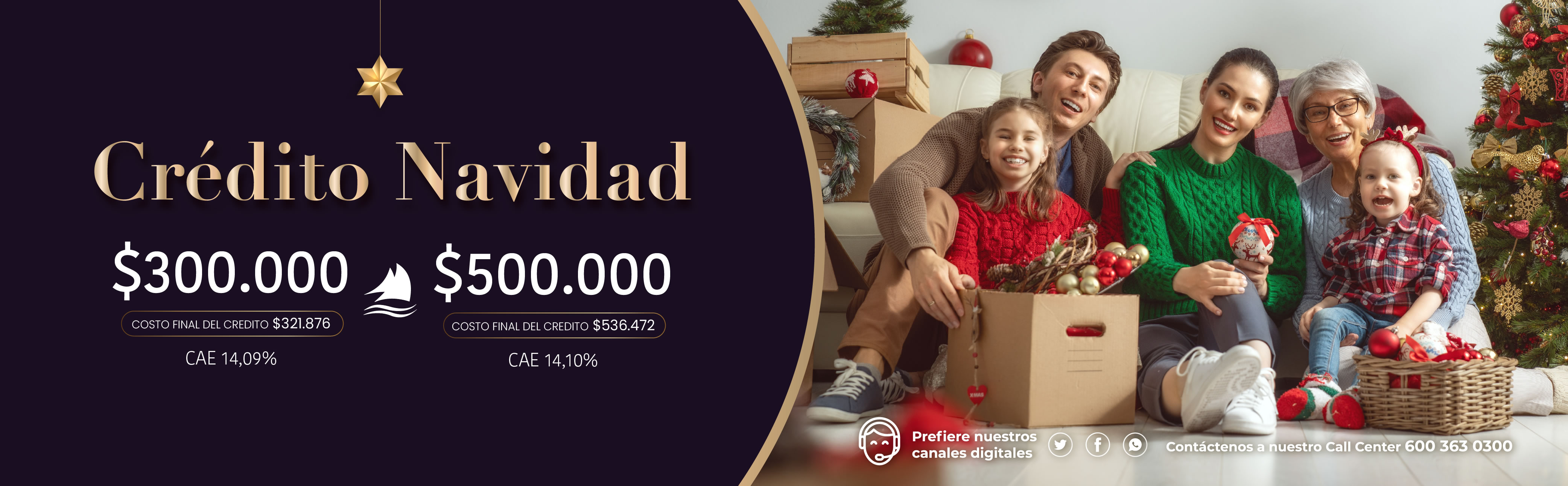 Crédito Navidad