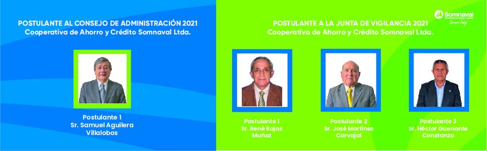 Postulantes Consejo 2020